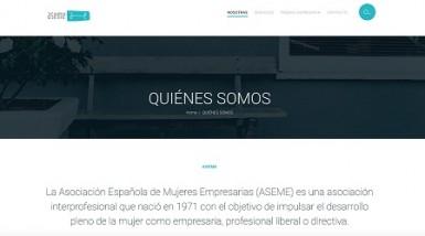 <!--:es-->ASEME  cumple 45 años estrenando una moderna web desarrollada por la agencia Brandon Beach<!--:-->