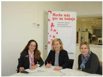 <!--:es-->ASEME firma un convenio de colaboración con Cruz Roja para fomentar la igualdad de oportunidades en el mundo laboral<!--:-->