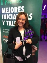 """<!--:es-->Ana Tejedor, de Art Marketing, premiada como mejor directora de RRHH en la categoría """"Pequeña Empresa""""<!--:-->"""