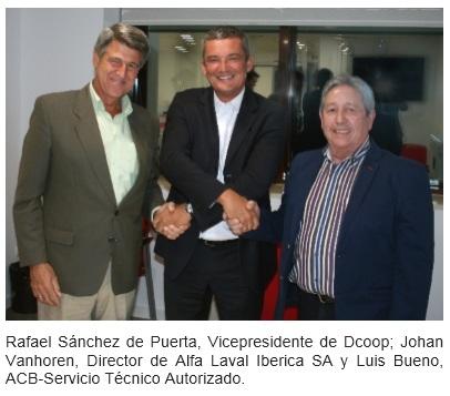 <!--:es--> Alfa Laval firma un acuerdo de colaboración con Dcoop para la asistencia postventa de la maquinaria de almazara<!--:-->