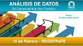 <!--:es-->Neteris y Oracle organizan un evento sobre las ventajas de aplicar soluciones de análisis de datos al negocio<!--:-->