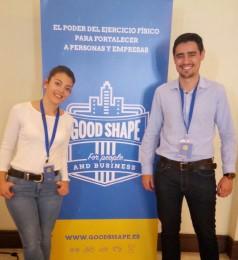 GOOD SHAPE un referente del ejercicio físico en el trabajo en el III Encuentro para el Progreso de la Salud en la Empresa