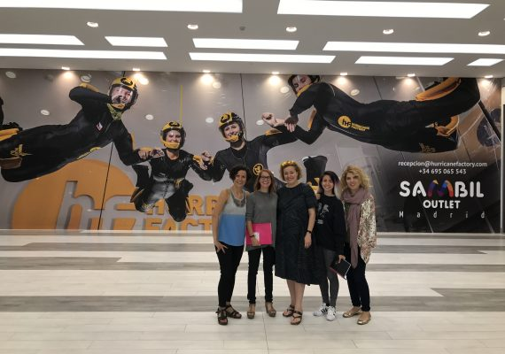 Hurricane Factory elige a Art Marketing para gestionar el pase VIP inaugural para medios de su nuevo túnel en Madrid