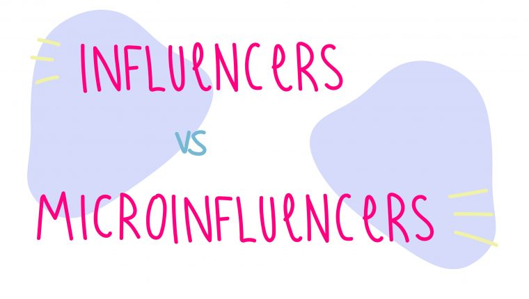 Influencer vs Microinfluencers