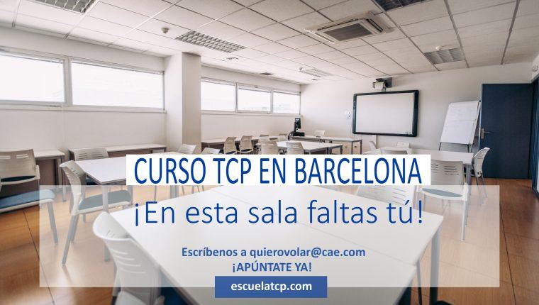 Plazas disponibles para la obtención del Certificado de Tripulante de Cabina de Pasajeros en CAE Barcelona