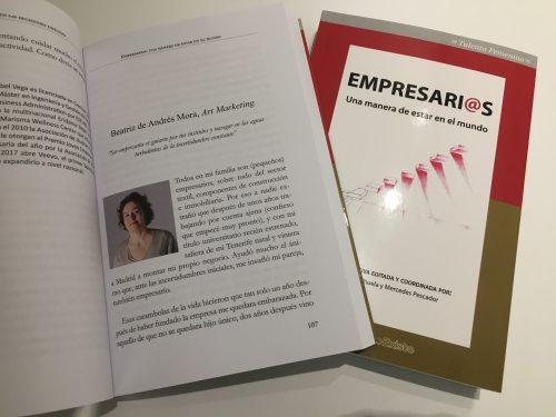 """Art Marketing participa en el libro """"Empresari@s, una manera de estar en el mundo"""""""