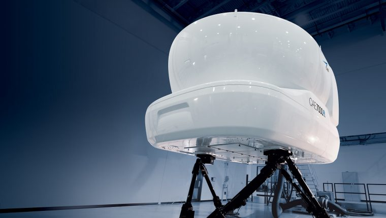 CAE presenta su nuevo simulador de vuelo ATR 72-600 en su centro de instrucción de Madrid