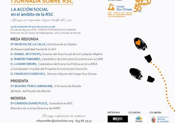 Hogar Don Orione organiza su I Jornada de Responsabilidad Social Corporativa
