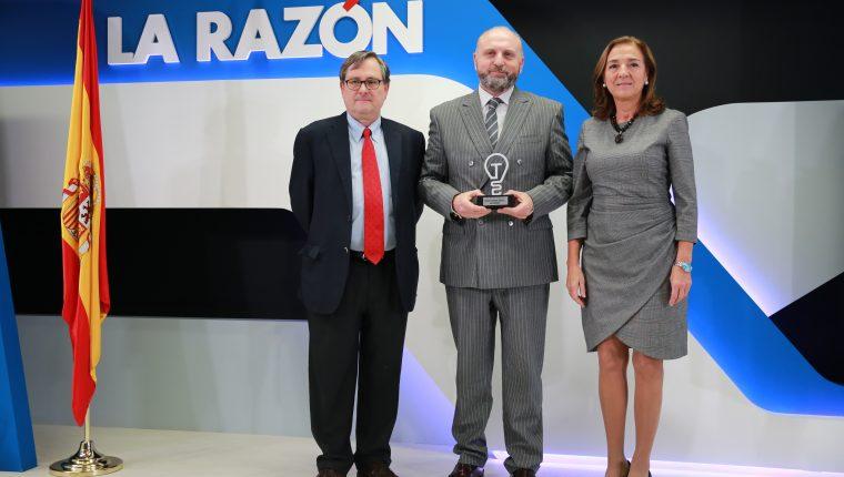 RISCO Group galardonado en la primera edición de los Premios de Tecnología e Innovación del diario La Razón