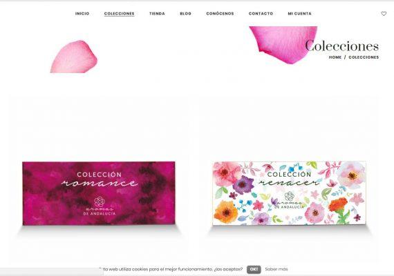 Art Marketing ayuda a Aromas de Andalucía en el crecimiento de su tienda on line