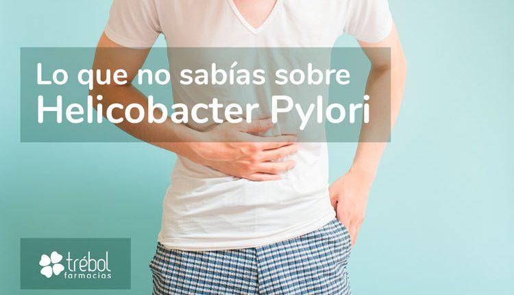 Indicaciones de Farmacias Trébol sobre la infección por Helicobacter Pylori