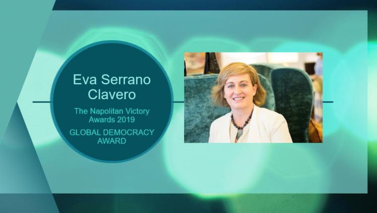 Eva Serrano, presidenta de ASEME, galardonada con el Global Democracy Award de la Washington Academy of Political Arts&Sciences