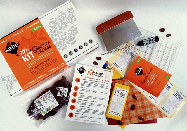 El kit de Chocolates Artesanos Isabel para hacer tu propio chocolate bio es único en el mercado