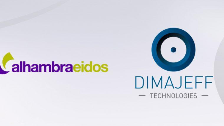 Alhambra-Eidos firma un acuerdo de partnership con Dimajeff Technologies que impactará positivamente en la operatividad de sus clientes